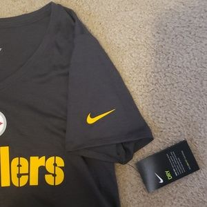 Nike Tops - Women's Pittsburgh Steelers Dri-Fit Touch T-Shirt
